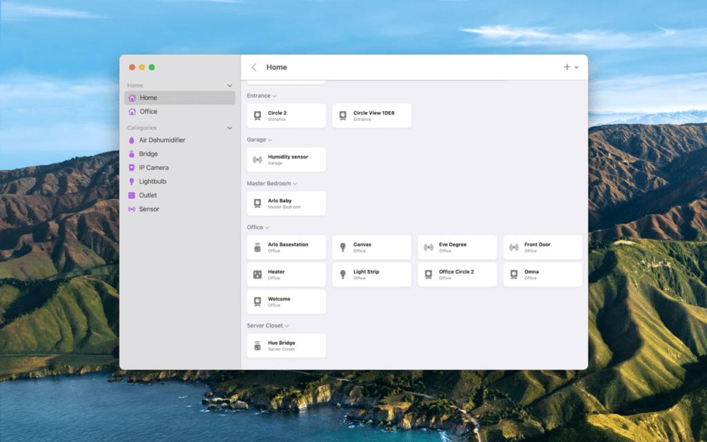 HomePass for HomeKit auf dem Mac