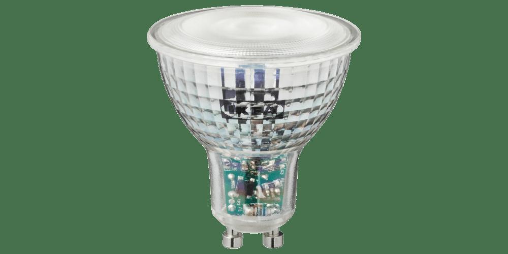 IKEA TRÅDFRI: Farbige GU10 Lampe erhältlich