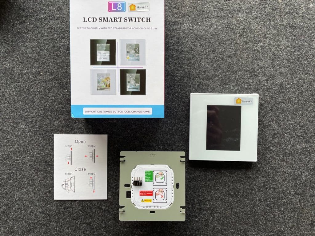 Lanbon L8 Switch Unboxing