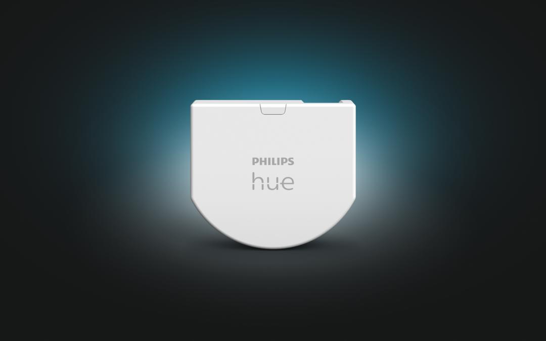 Philips Hue Wandschalter-Modul ab sofort verfügbar