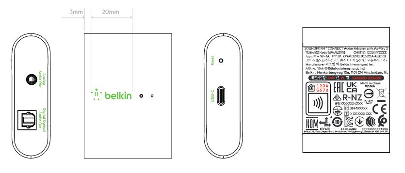 Neues AirPlay 2 Modul für bestehende Lautsprecher von Belkin aufgetaucht