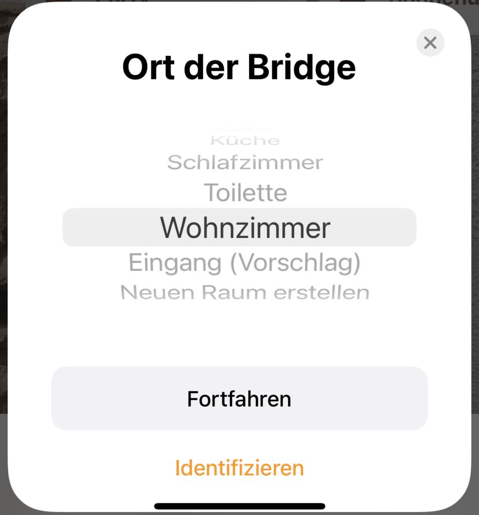Ort der Bridge