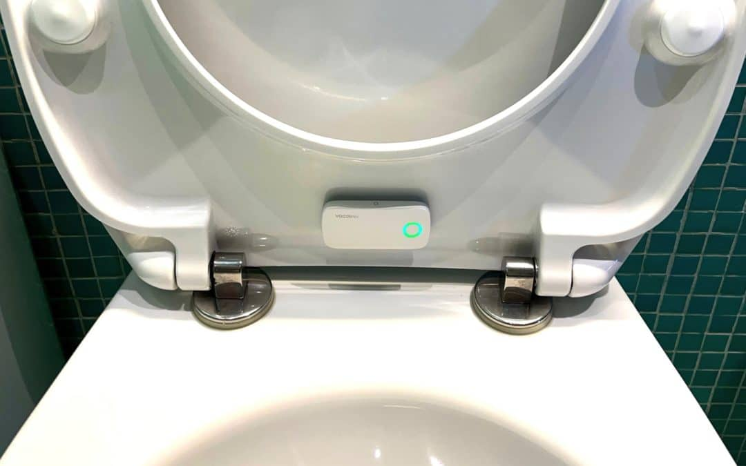 Die intelligente Toilette