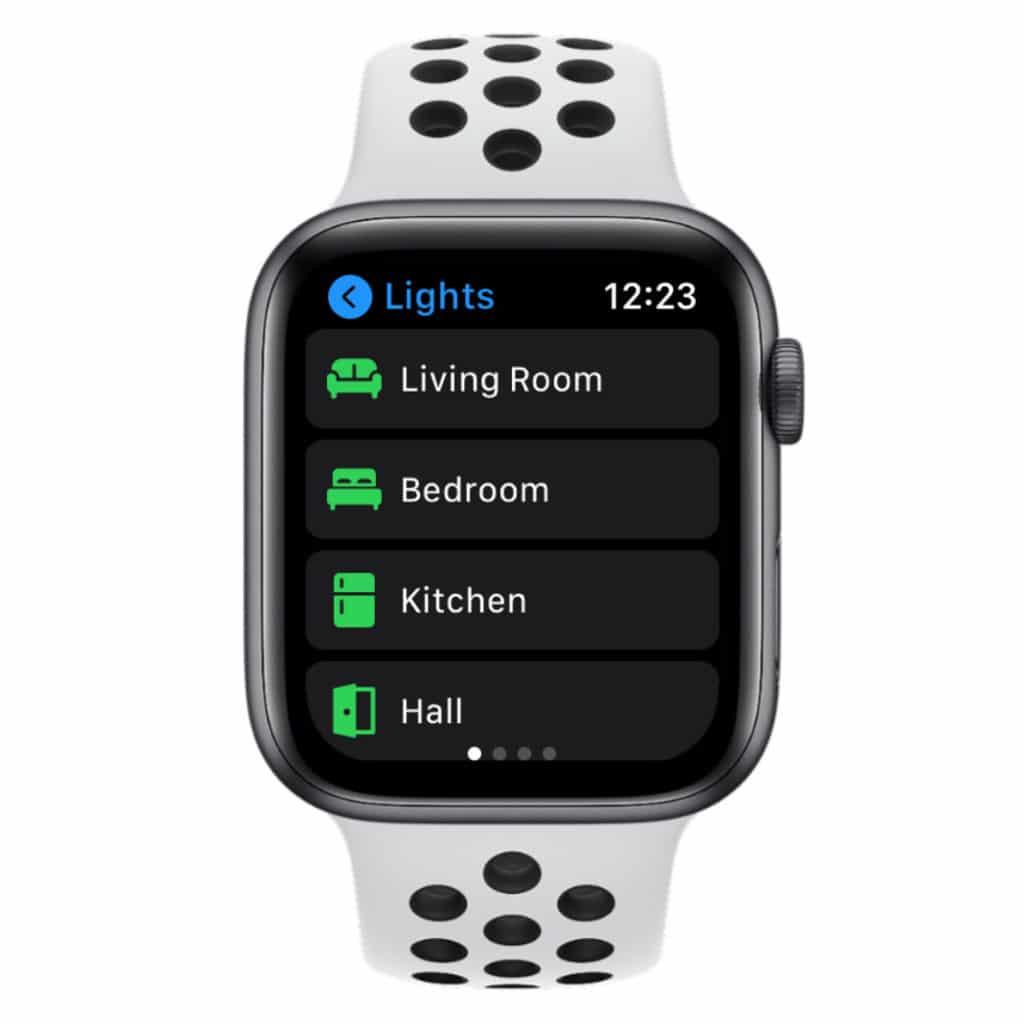 Controller für HomeKit Apple Watch