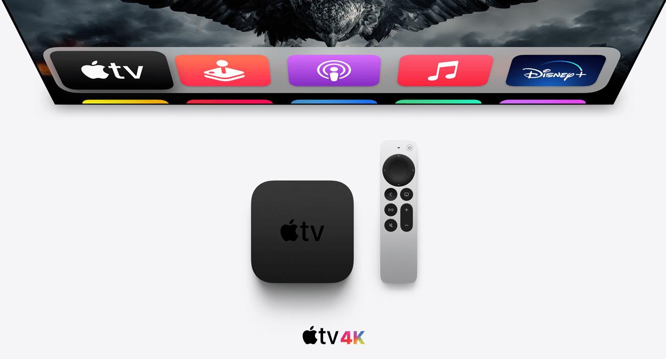 Neuer Apple TV 4K mit Thread erhältlich