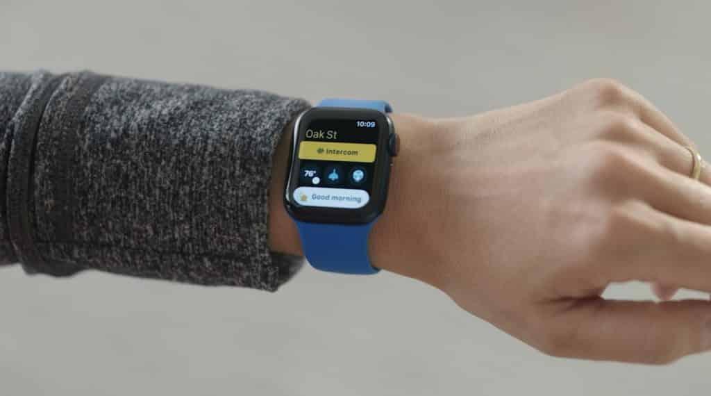 Home-App auf der Apple Watch