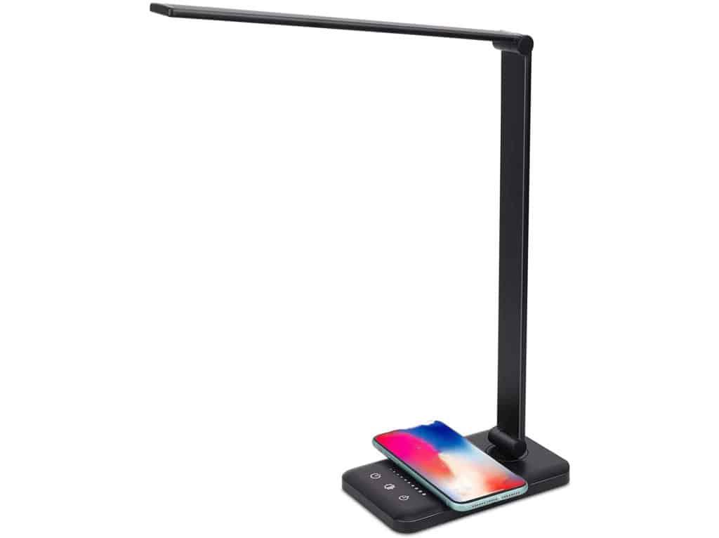 HomeKit-Schreibtischlampe mit QI-Ladepad erhältlich