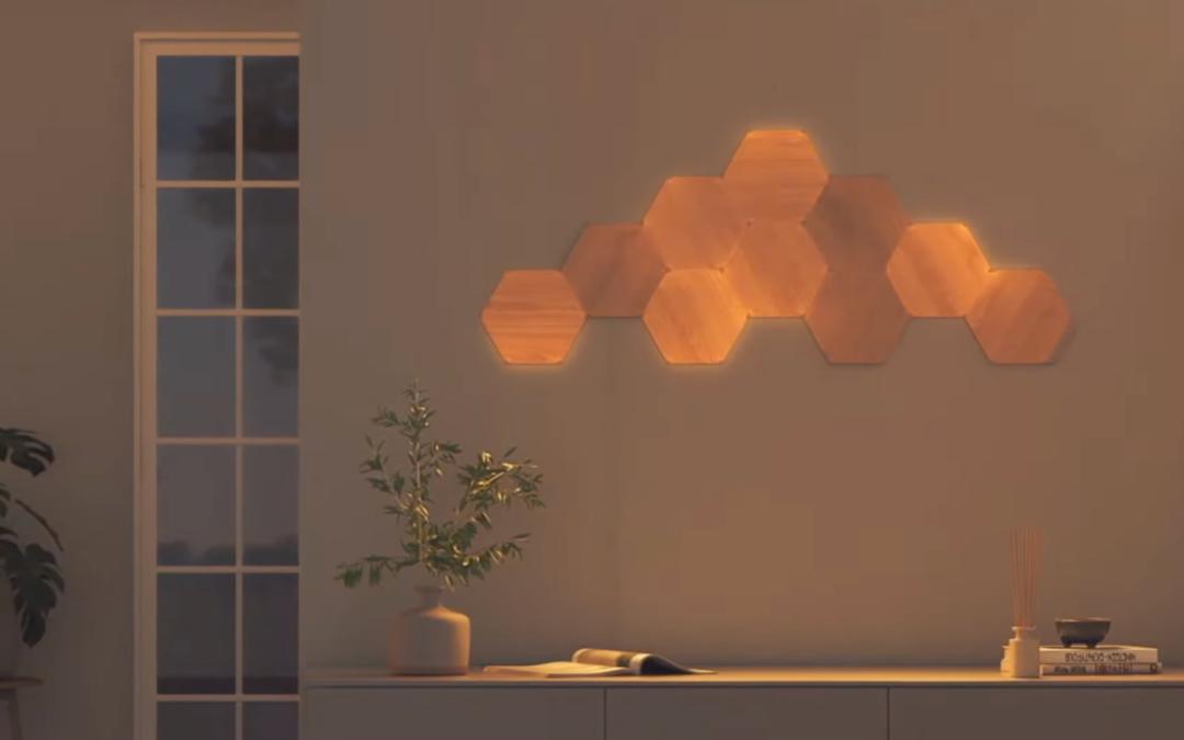 Nanoleaf: Neue Wandmodule in Holzoptik vorgestellt, Thread verbessert, Matter angekündigt und mehr