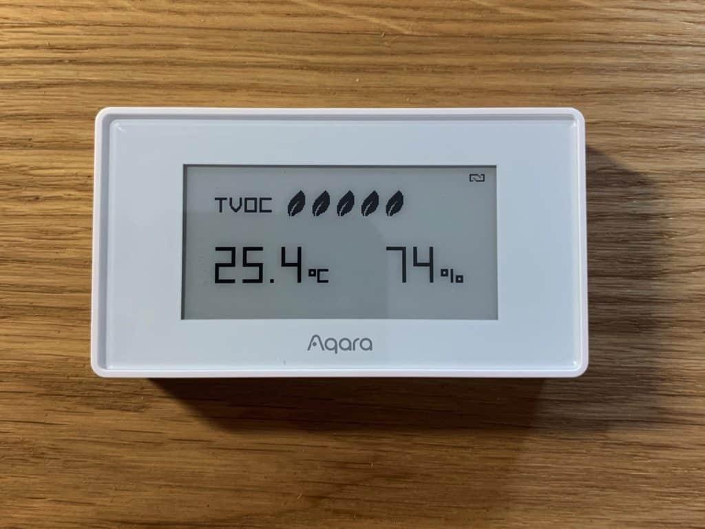 Aqara TVOC Display