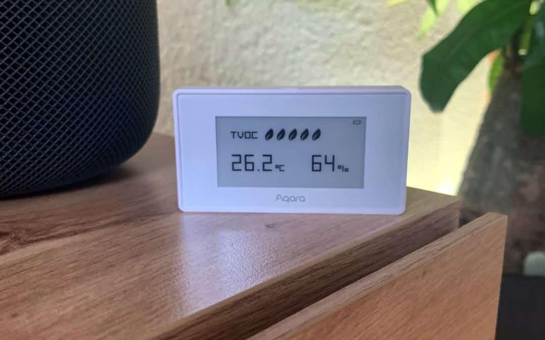 Aqara TVOC: Luftqualität, Luftfeuchtigkeit und Temperatur stets im Blick