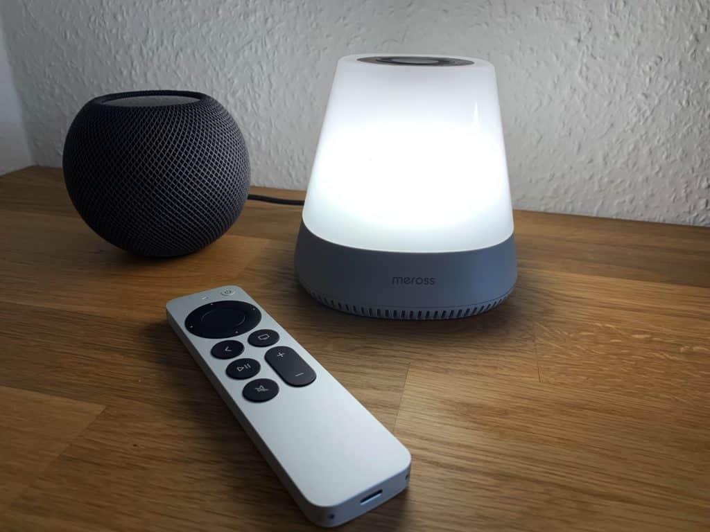 HomeKit-Einschlafhilfe von Meross ausprobiert