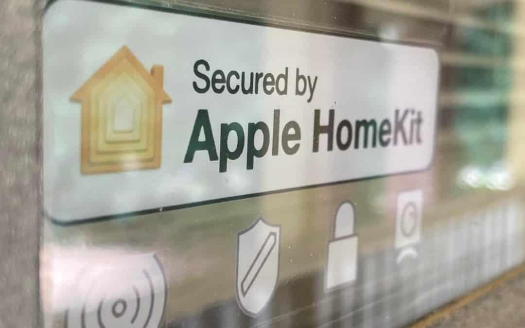 """""""Secured by Apple HomeKit"""": Aufkleber zum Selberdrucken"""