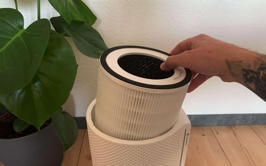 Siri erinnert an Filterwechsel vom Luftreiniger