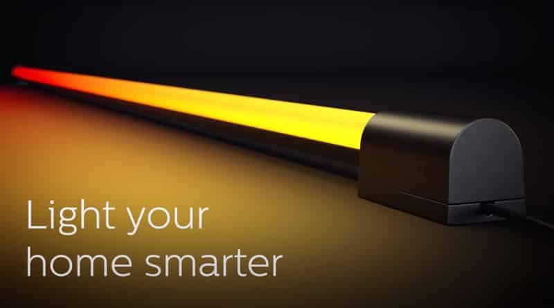 Philips Hue Play Gradient Light Tube für die Unterseite eures Fernsehers