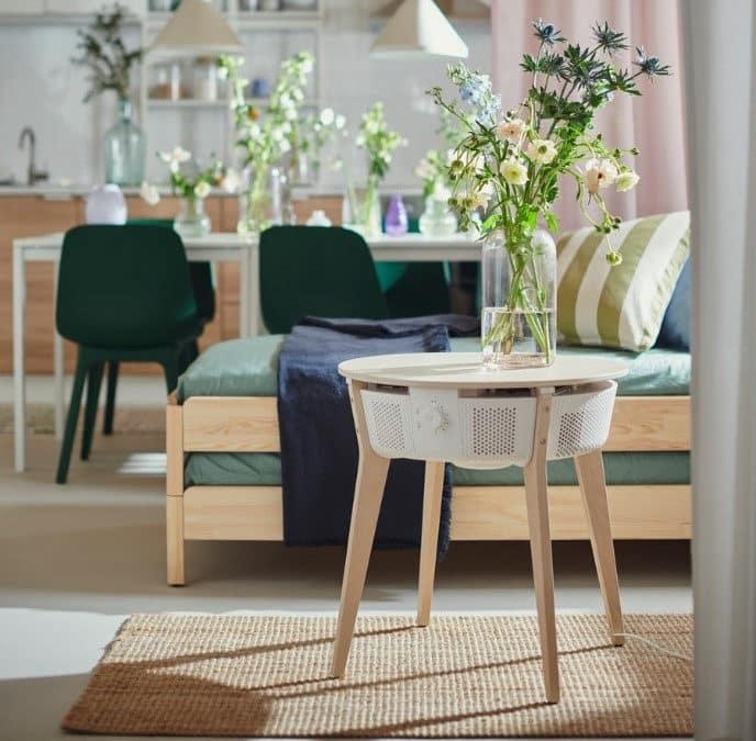 IKEA STANDVIND: Smarter Luftreiniger kommt als Tisch oder Standgerät
