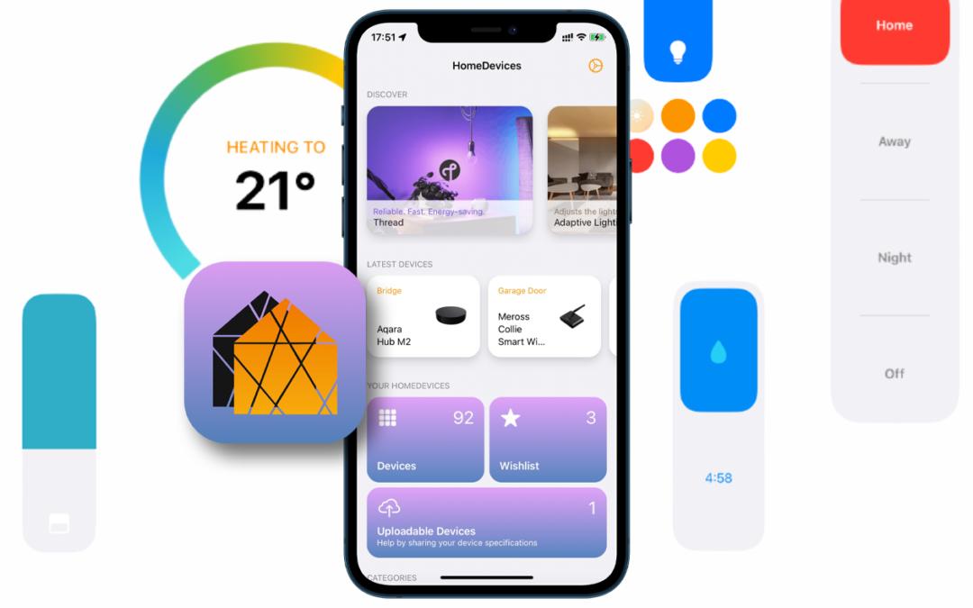 HomeDevices: Clevere HomeKit-App zeigt Gerätefunktionen schon vor dem Kauf