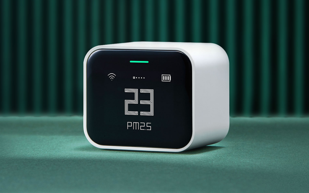 Qingping Air Monitor – Retro hübsch und mobil praktisch