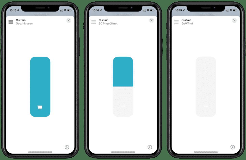 Steuerung in Apples Home-App