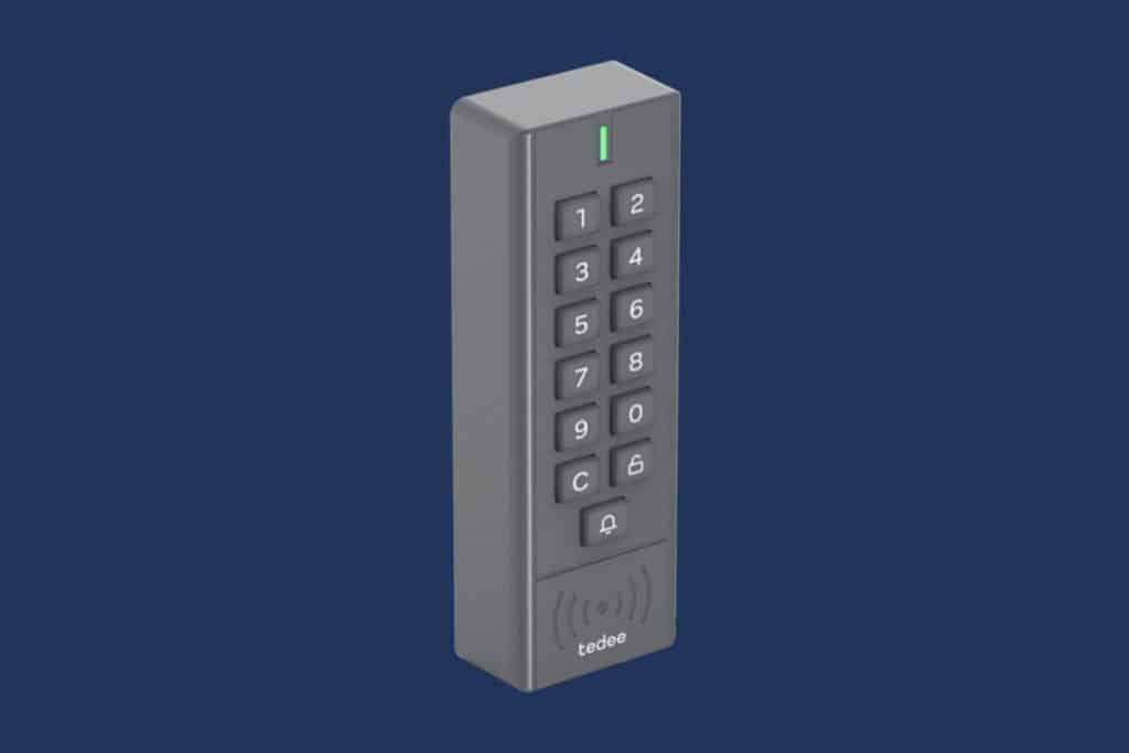 Keypad von tedee zeigt sich erstmals